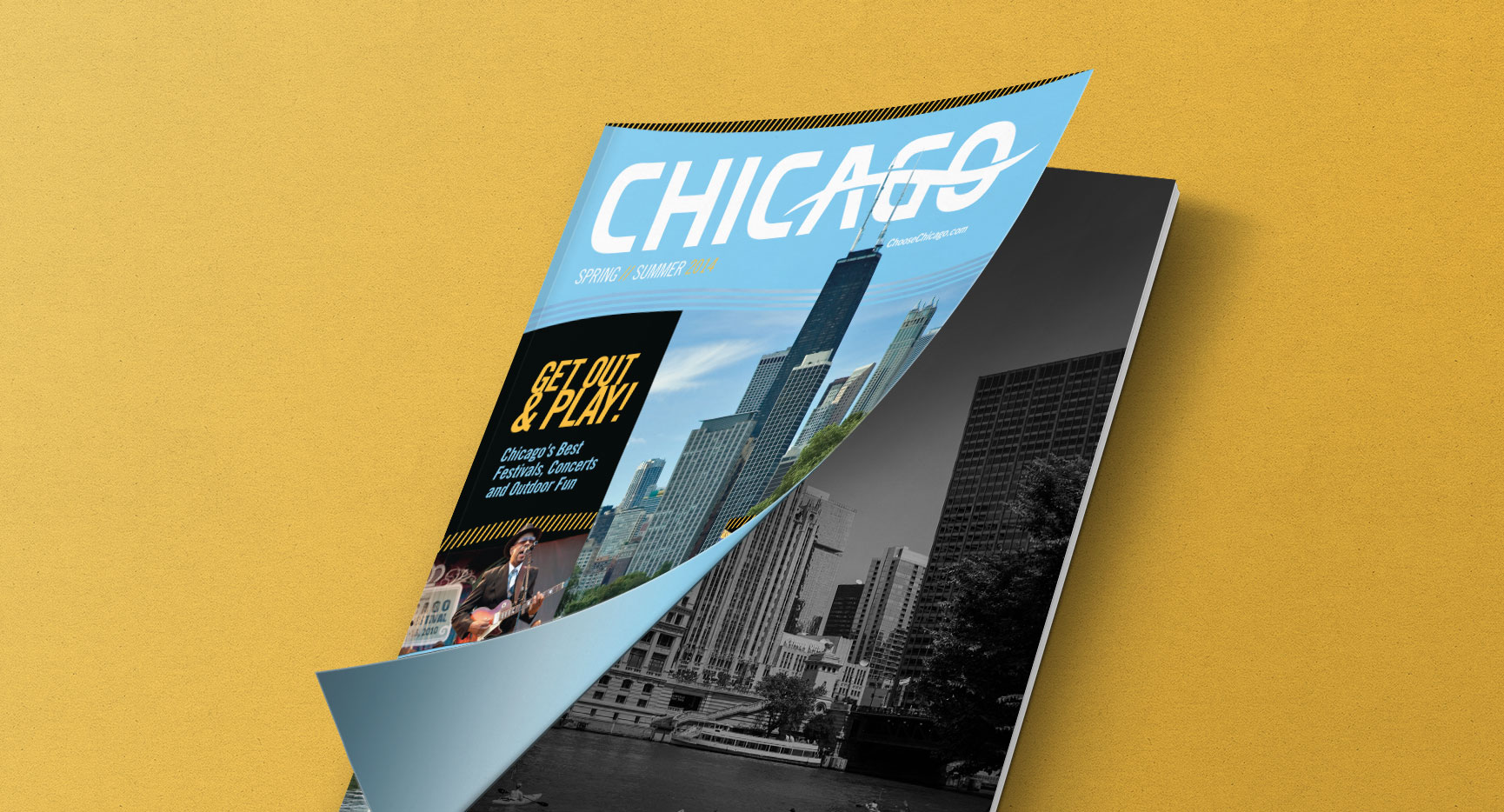Choose Chicago Official Visitor Guide Summer 2014 Magazine Design